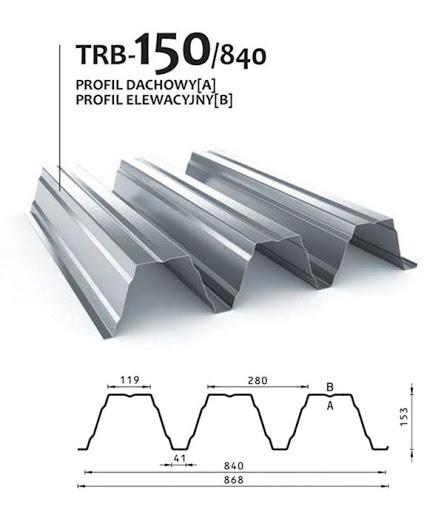 Trapez hibond nosilna pločevina